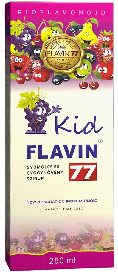 Flavin77 Kid szirup 250 ml