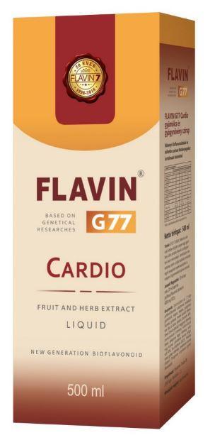 Flavin G77 Cardio 500 ml szirup