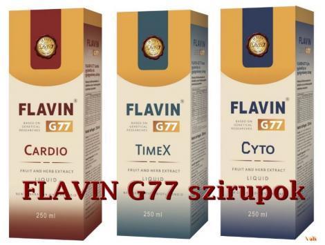 Flavin G77 szirupok