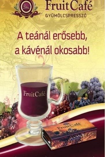 Fruit Cafe gyümölcspresszó